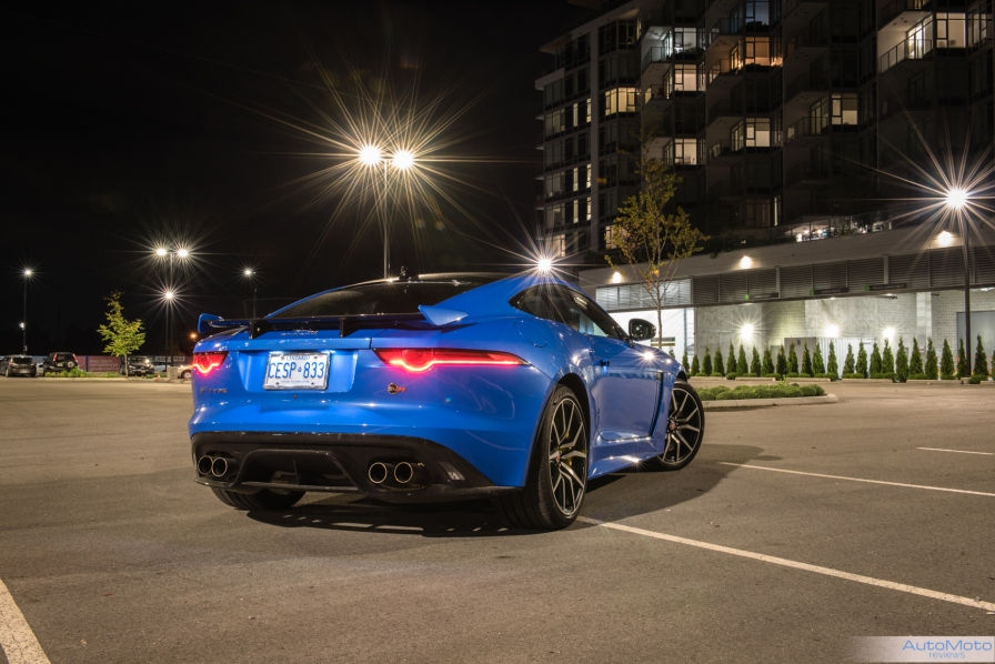 2018 Jaguar F-Type SVR-2